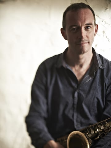 Jake McMurchie saxophonist and Wordpress developer